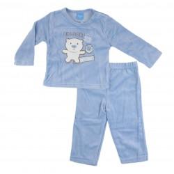 Pyjama nounours - bébé garçon - bleu foncé