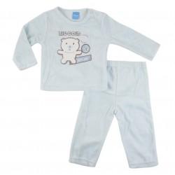 Pyjama nounours - bébé garçon - bleu clair