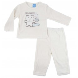 Pyjama nounours - bébé - blanc