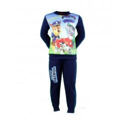 Paw Patrol - ensemble deux pièces sweat et pantalon - enfant - bleu marine