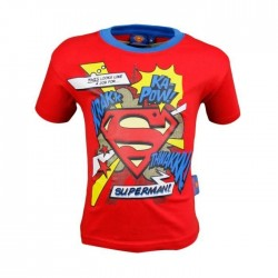 Tee shirt Superman - garçon - rouge