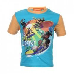 Tee shirt tortue ninja - garçon - bleu