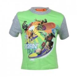 Tee shirt tortue ninja - garçon - vert