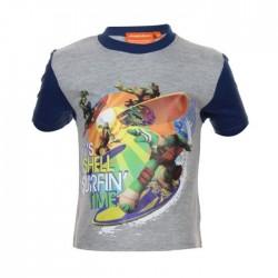 Tee shirt tortue ninja - garçon - gris