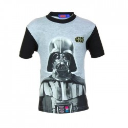 Tee shirt star wars - garçon - gris