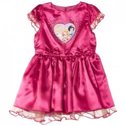 Disney princesses - robe - fille - fuschia