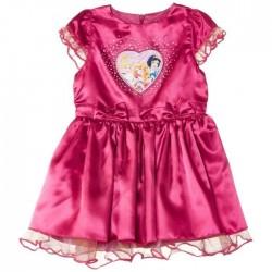 Disney princesses - robe - fille - fuschia