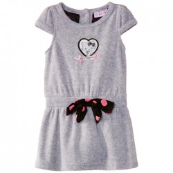 Charmmy Kitty - robe - fille - gris