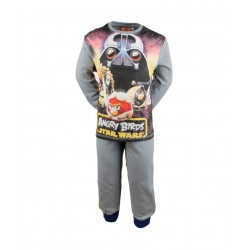Angry birds star wars - pyjama - garcon - gris
