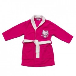 Hello kitty - robe de chambre / peignoir - fille - fushia