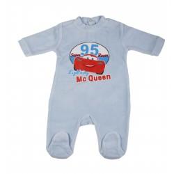 Cars - grenouillère - bébé garçon - bleu clair