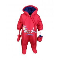 Disney Cars - Combinaison intérieur polaire - bébé garçon - rouge