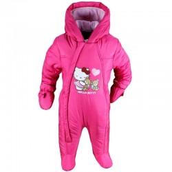 Hello Kitty - combinaison intérieur polaire - bébé fille - fuschia