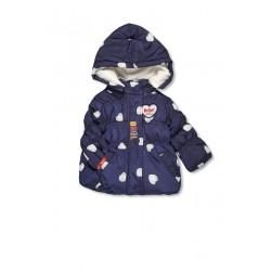 Lee Cooper - Parka à capuche - bébé fille - bleu marine