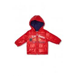 Lee Cooper - Parka à capuche - bébé garçon - rouge