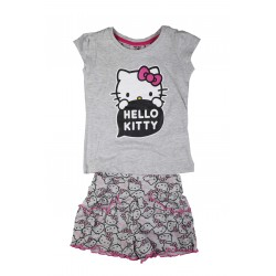 Hello kitty - ensemble - fille - gris