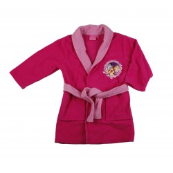 Disney princesses - robe de chambre / peignoir - fille - fuschia