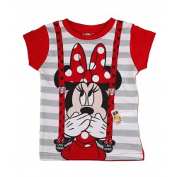 Minnie - tee shirt - fille - rouge