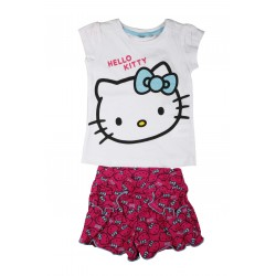 Hello kitty - ensemble - fille - Blanc