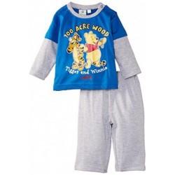 Winnie l'ourson - ensemble deux pièces - bébé garçon - bleu