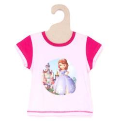 Princesse Sofia - tee shirt - fille - fuschia