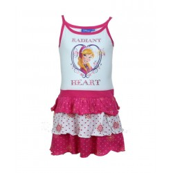 Disney la reine des neiges - robe - fille - blanc