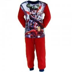 pyjama polaire garcon Avengers rouge