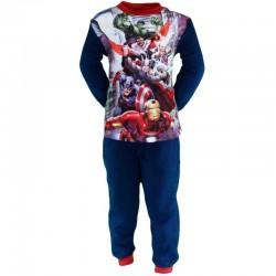 Avengers - pyjama polaire - garcon - bleu marine