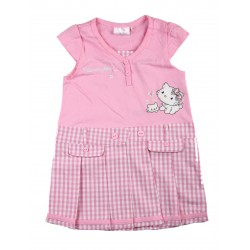 Robe manche courte fille Charmmy Kitty rose