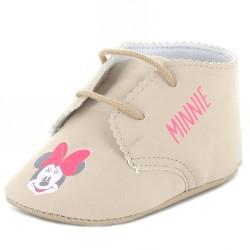 Chaussure bébé fille Minnie beige