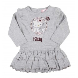 Robe bébé fille gris Charmmy Kitty