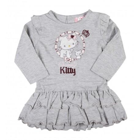 Robe bébé fille gris Charmmy Kitty
