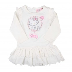 Charmmy Kitty robe bébé fille blanc