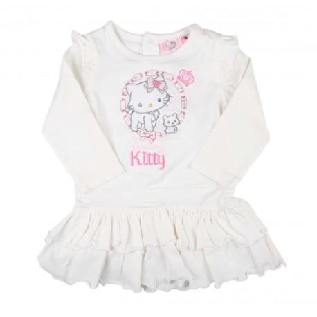 Charmmy Kitty robe bébé fille blanc
