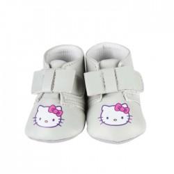 Chaussures à nœud Hello Kitty bébé fille gris