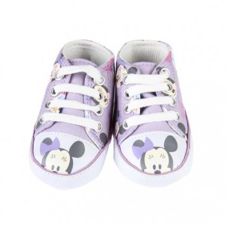 Sneakers bébé fille Disney Minnie violet
