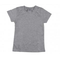 Tee shirt basique garçon gris