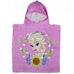 Poncho La reine des neiges violet