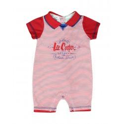 Barboteuse Lee Cooper bébé garçon rouge