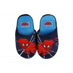 Chausson Spiderman garçon bleu marine