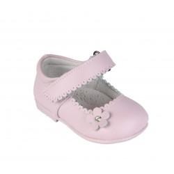 Babies en cuir bébé fille rose