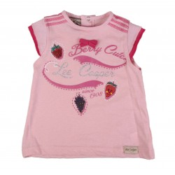 T-shirt Lee Cooper bébé fille rose