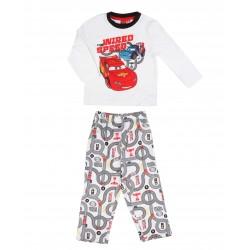 Pyjama Cars garçon blanc