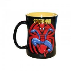 Mug Spiderman en relief garçon noir
