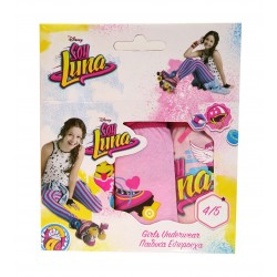 Soy Luna - lot de trois culottes - fille