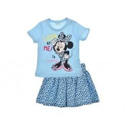 Minnie - ensemble deux pièces tee shirt et jupe - bleu