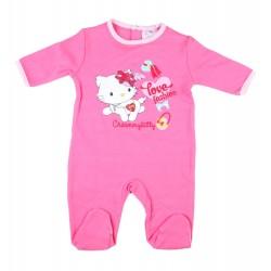 Charmmy Kitty - grenouillère pur coton - bébé fille - fuschia
