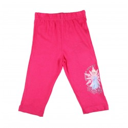 Reine des neiges - legging - fille - fuschia