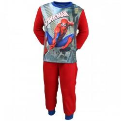 Spiderman - pyjama polaire - garçon - rouge