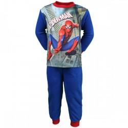 Spiderman - pyjama polaire - garçon - bleu